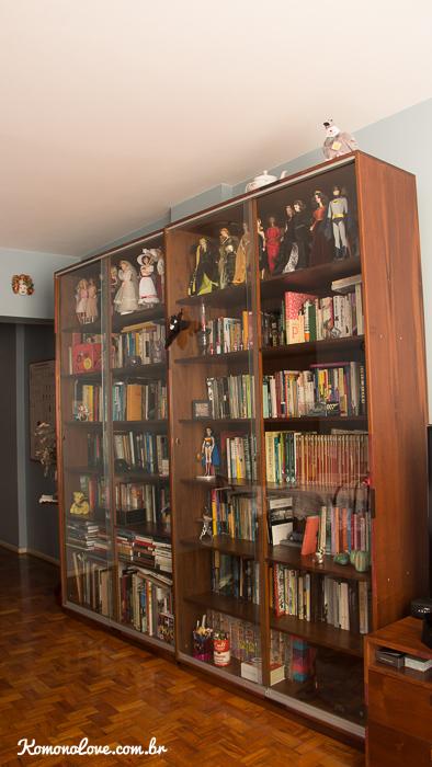 Só um pouquinho de livros! :P